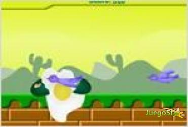 Juego  the green egg run el huevo verde