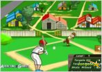 Juego beisbol en el barrio