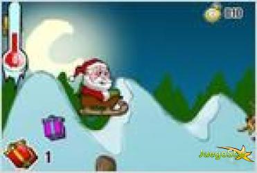 santa claus and gifts santa y los regalos