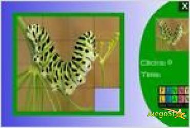 Juego  cute colored caterpillar slide puzzle rompecabezas de oruga