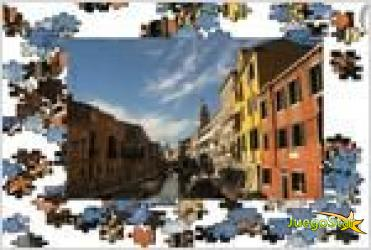 Juego  jigsaw venice rompecabezas de venecia