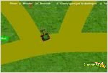 Juego  tank escape el escape del tanque