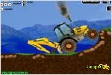 Juego backhoe trial 2 excavadora 2