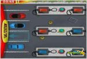 Juego  gas station parking estacionando el coche