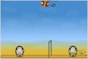 Juego volleyball penguins los pinguinos