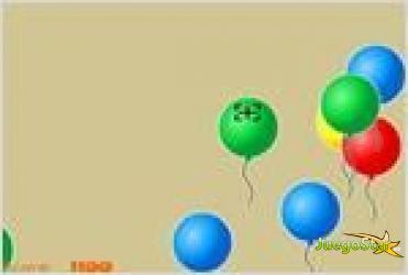 Juego  balloon hunt cazando globos