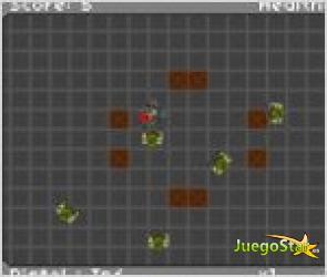 Juego  zombnet defense defensa contra los zombies