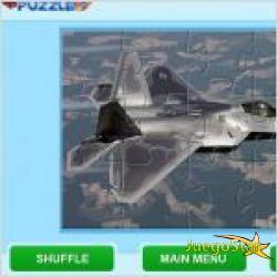 Juego  fighter planes jigsaw rompecabezas de aviones