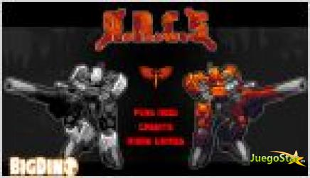 Juego a.r.c.s. guerra de robots