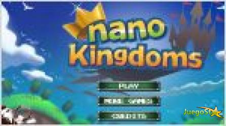 Juego  nano kingdoms. reinos de castillos