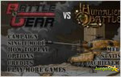 Juego  battle gear vs humaliens. la gran guerra