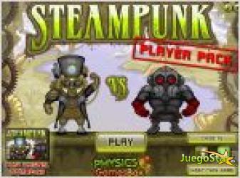 Juego  steampunk pp. alien vs predator