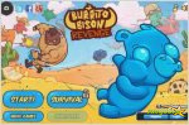 Juego  burrito bison revenge. burro peleon