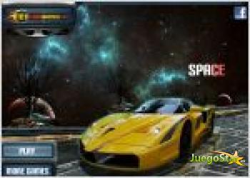 Juego space highway. carrera en el espacio