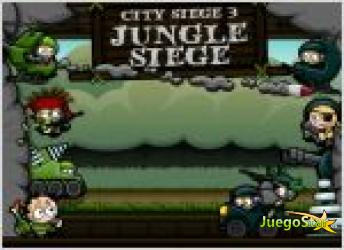 Juego  city siege 3 jungle siege. guerra en la jungla