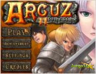 Juego arcuz 2 dungeons. pueblo medieval