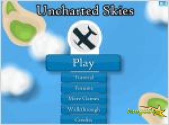Juego uncharted skies. guerra de aviones