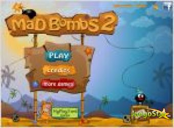 Juego  mad bombs 2. mini bomba