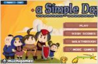 Juego  a simple day. guerra medieval