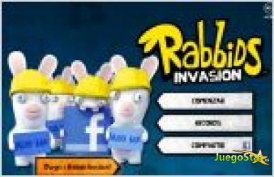 Juego rabbids  alive  kicking. invasion de los conejos