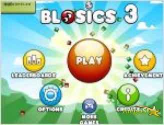 Juego  blosics 3. cuadrados verdes