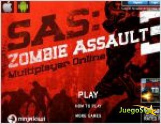 Juego  sas zombie assault 3. guerra de zombies