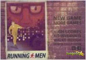 Juego  running men. hombre corriendo