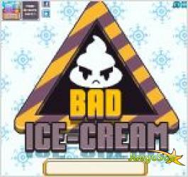 Juego bad icecream. helado malo