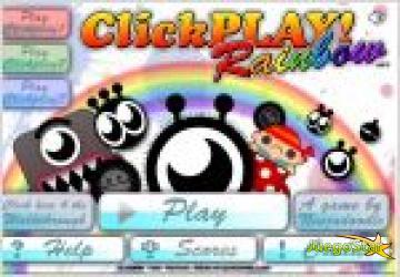 Juego  clickplay rainbow. juegos de pensar