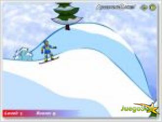 Juego skiboard