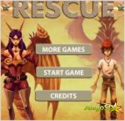 Juego  dragon rescue. rescata al dragon