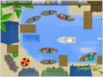 Juego  aparca el yate juego de aparcar barcos