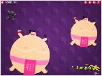 Juego  hungry sumo sumo comilon