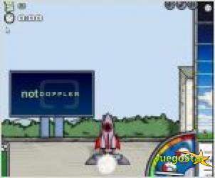 Juego intospace juego de cohete espacial