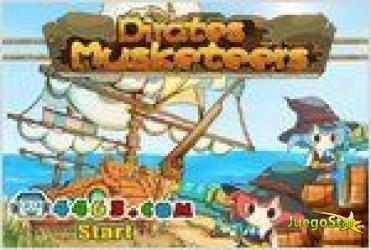 Juego  pirates musketeers piratas mosqueteros
