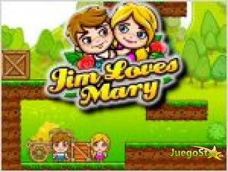Juego  jim loves mary jim ama a maria