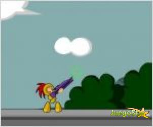 Juego  luchador amarillo
