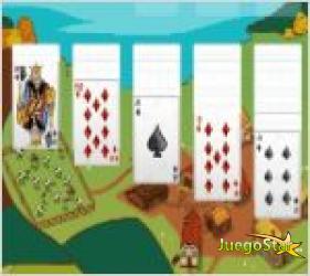 Juego  solitaire farm edition juego de cartas