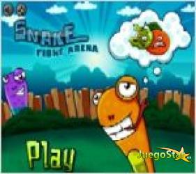 Juego  snake fight arena juego de la serpiente