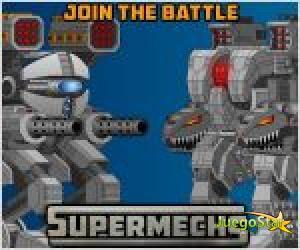 Juego  super mechs lucha de robots