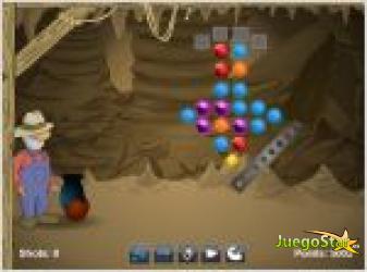Juego  jewel mining las gemas de la mina