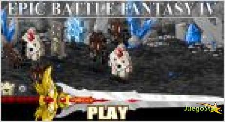 Juego  epic battle fantasy 4 epica batalla 4