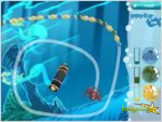 Juego  marble catcher deep sea creatures criaturas del mar profundo