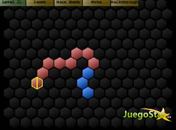 Juego  hex rotate los hexagonos