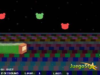 Juego  super space monkey super mono espacial