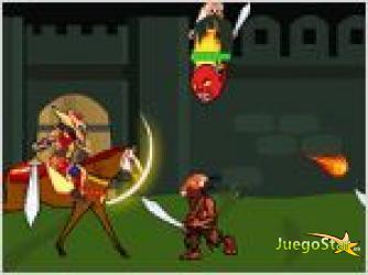 Juego  fort warrior el guerrero del fuerte