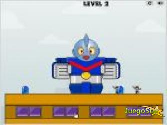 Juego  robot save world salvar al mundo