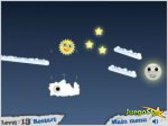 Juego  shine wars 2 la luna y el sol 2