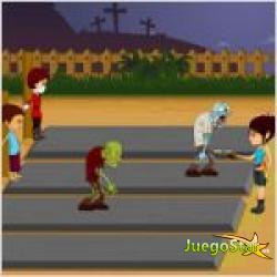 Juego  rise of the zombies el despertar de los zombies