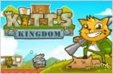 Juego  kitts kingdom defender el reino de los gatos